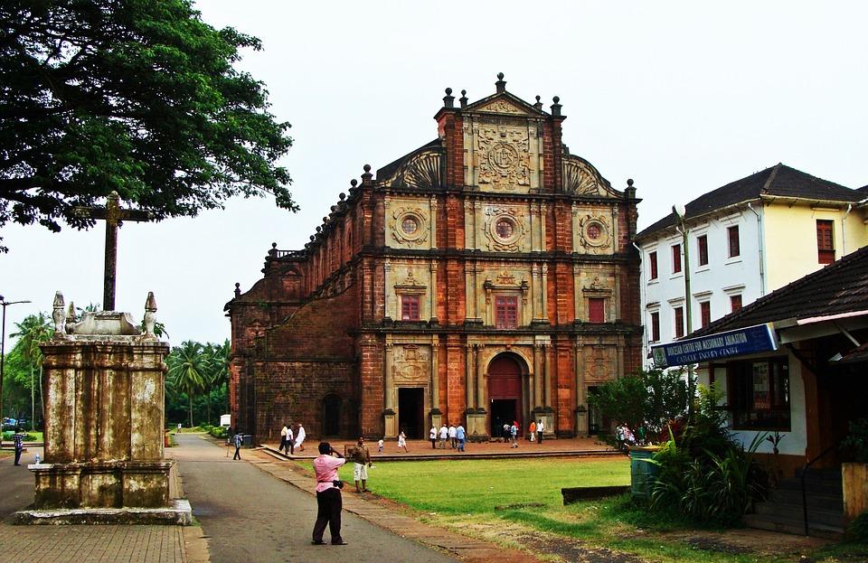 basilica of bom jesus goa india